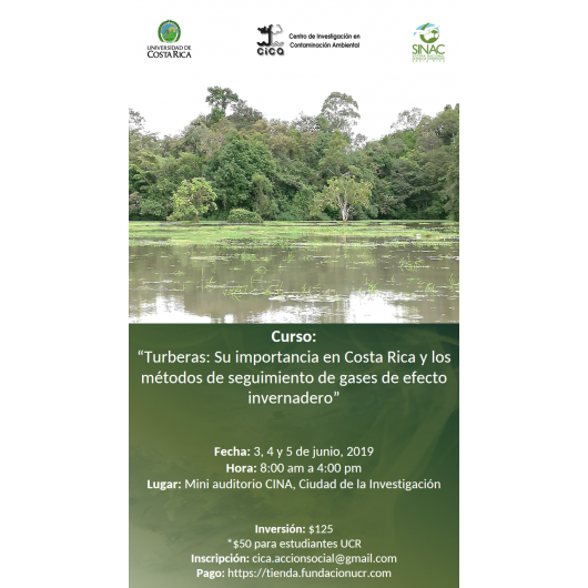 Peatlands: Its importance in Costa Rica and greenhouse gas monitoring methods
