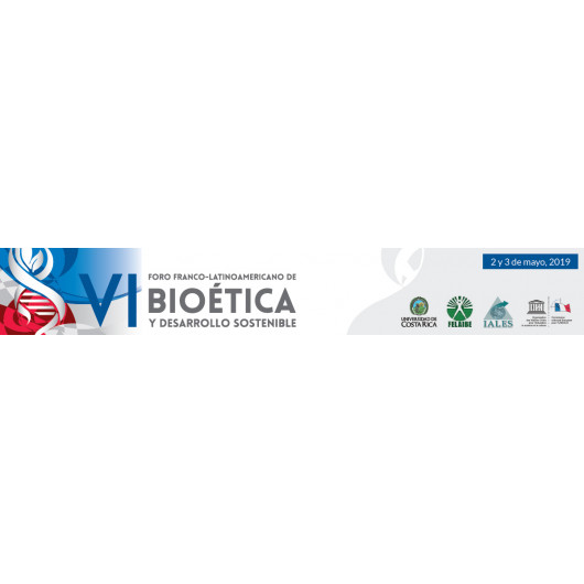 VI Latin American Franco Forum on Bioethics and Sustainable Development