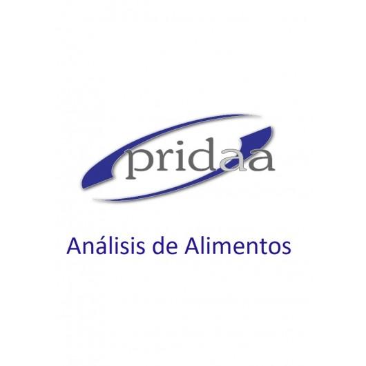 Análisis de Alimentos (PRIDAA)